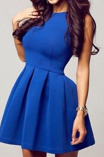 Cute Royal Blue Homecoming Dresses, Short Prom Dresses, Lovely Party Dresses kb20182609