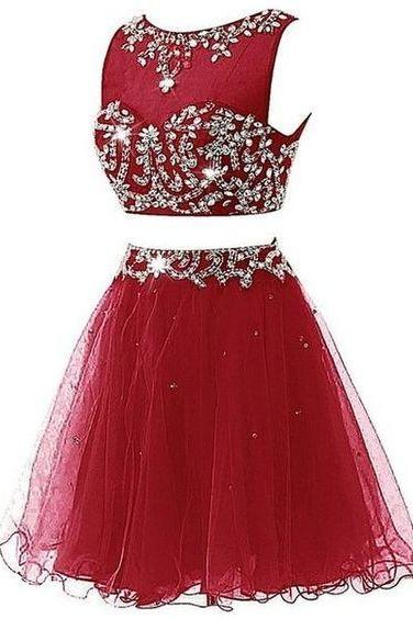 Charming Homecoming Dresses,Red Homecoming Dresses,cute Homecoming Dresses kb20182610